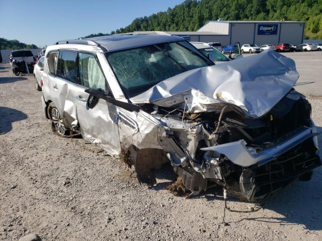 Salvage cars for sale from Copart Hurricane, WV: 2021 Nissan Armada SL