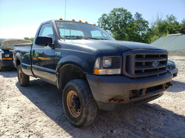 Salvage cars for sale from Copart West Warren, MA: 2004 Ford F250 Super
