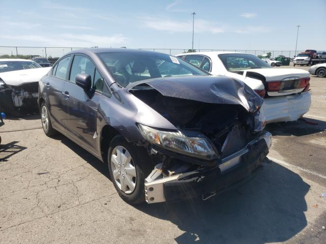Salvage cars for sale from Copart Moraine, OH: 2014 Honda Civic LX