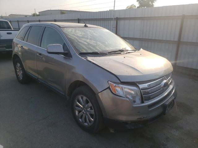 Salvage cars for sale from Copart Bakersfield, CA: 2008 Ford Edge Limited