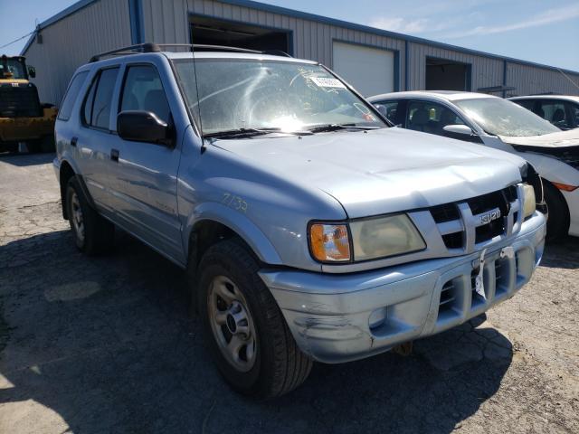 Isuzu salvage cars for sale: 2004 Isuzu Rodeo S