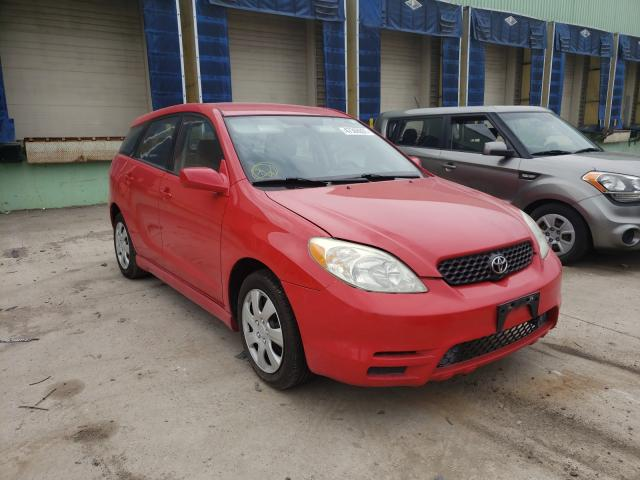 Salvage cars for sale from Copart Columbus, OH: 2003 Toyota Corolla MA