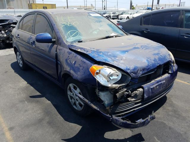 Salvage cars for sale from Copart Wilmington, CA: 2010 Hyundai Accent GL