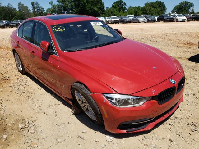 Salvage cars for sale from Copart China Grove, NC: 2017 BMW 330E