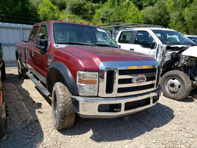Salvage cars for sale from Copart Hurricane, WV: 2008 Ford F250 Super