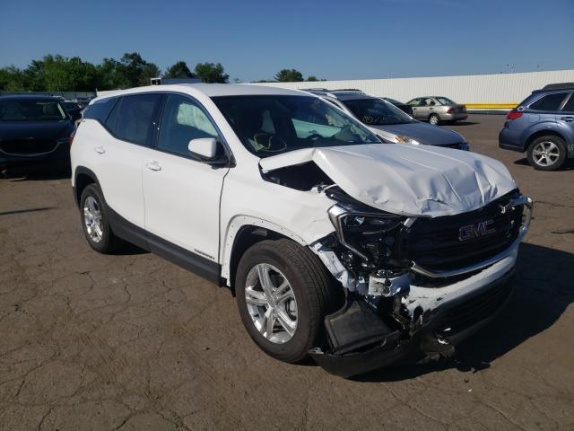 Salvage cars for sale from Copart Pennsburg, PA: 2020 GMC Terrain SL