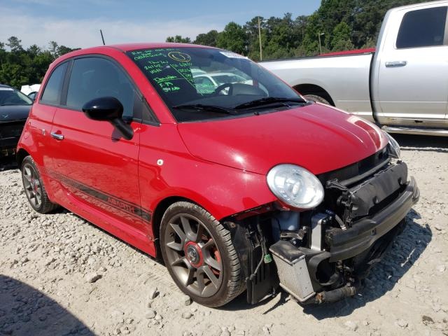 Fiat salvage cars for sale: 2013 Fiat 500 Abarth