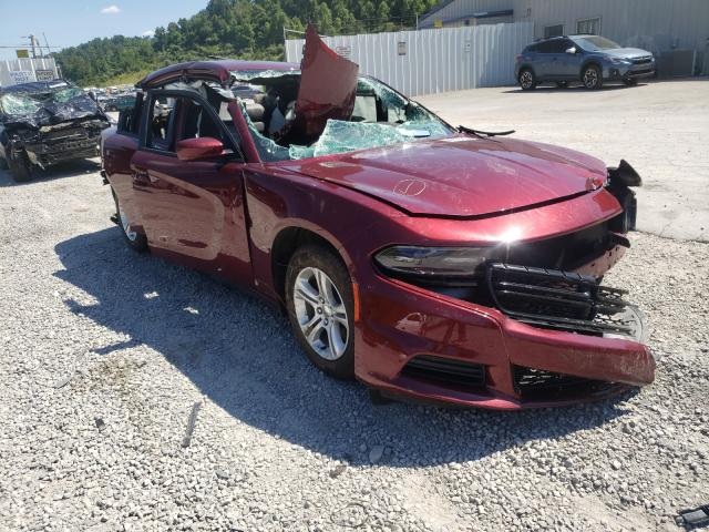 Salvage cars for sale from Copart Hurricane, WV: 2021 Dodge Charger SX