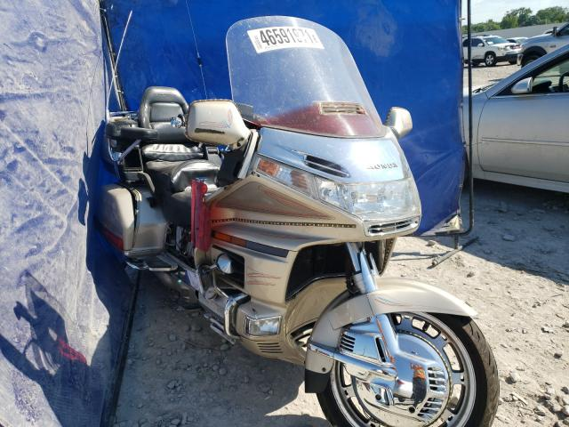 Salvage cars for sale from Copart Montgomery, AL: 1998 Honda GL1500 SE