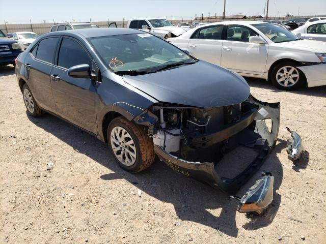 Salvage cars for sale from Copart Andrews, TX: 2017 Toyota Corolla L