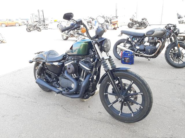Salvage cars for sale from Copart Phoenix, AZ: 2018 Harley-Davidson XL883 Iron