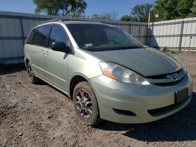 Salvage cars for sale from Copart Albany, NY: 2006 Toyota Sienna LE