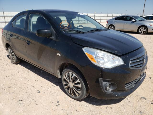 Salvage cars for sale at Andrews, TX auction: 2017 Mitsubishi Mirage G4