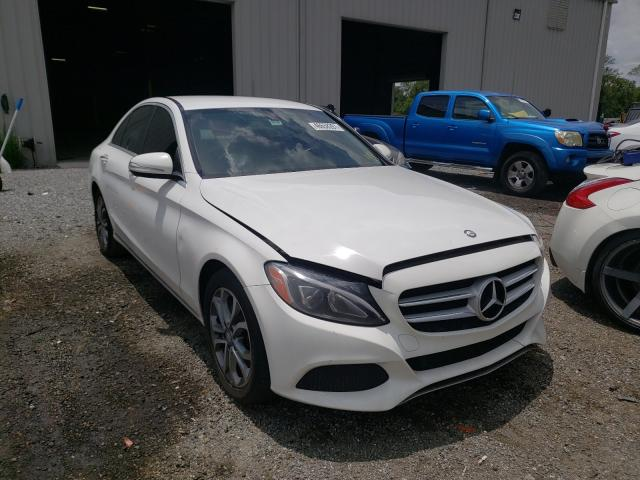 Salvage cars for sale from Copart Jacksonville, FL: 2015 Mercedes-Benz C300