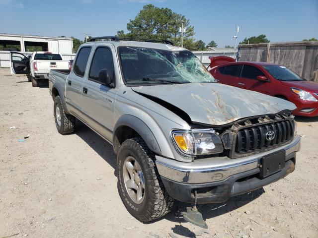 Salvage cars for sale from Copart Florence, MS: 2004 Toyota Tacoma DOU