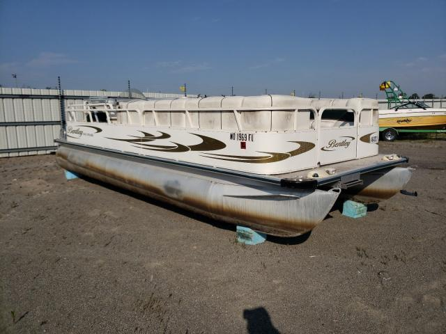 Salvage boats for sale at Alorton, IL auction: 2007 Bentley Boat