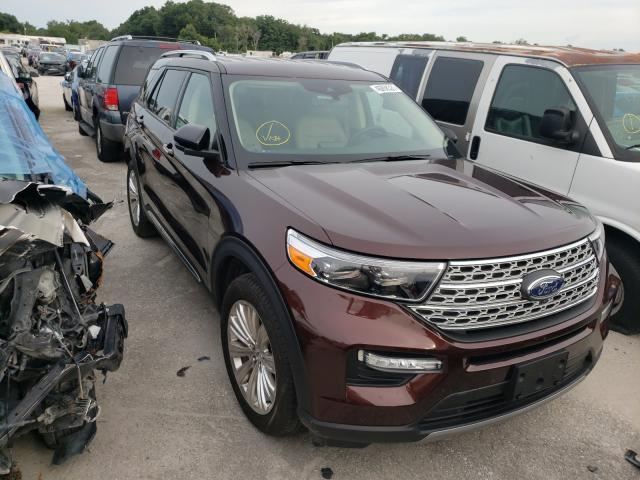 Salvage cars for sale from Copart Apopka, FL: 2020 Ford Explorer L
