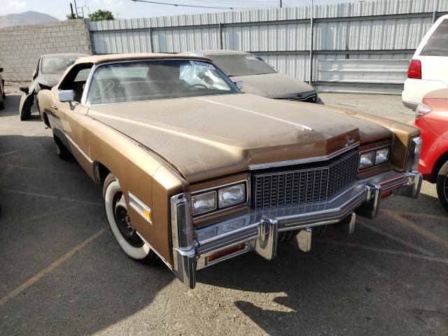Salvage cars for sale from Copart Colton, CA: 1976 Cadillac Eldorado