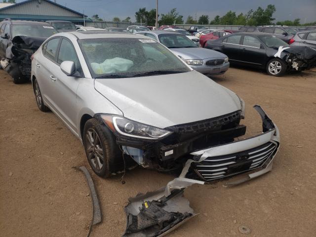 Salvage cars for sale from Copart Pekin, IL: 2018 Hyundai Elantra SE