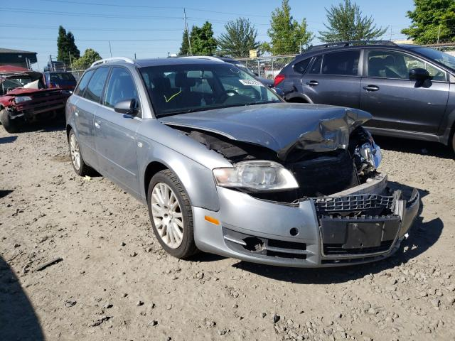 Salvage cars for sale from Copart Eugene, OR: 2006 Audi A4 2.0T AV