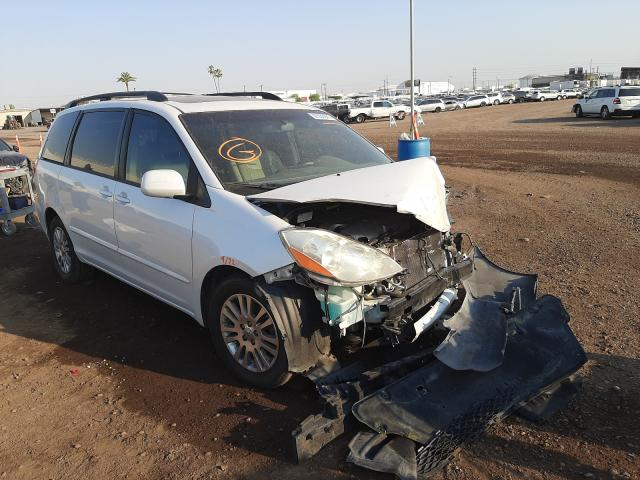 Salvage cars for sale from Copart Phoenix, AZ: 2007 Toyota Sienna XLE