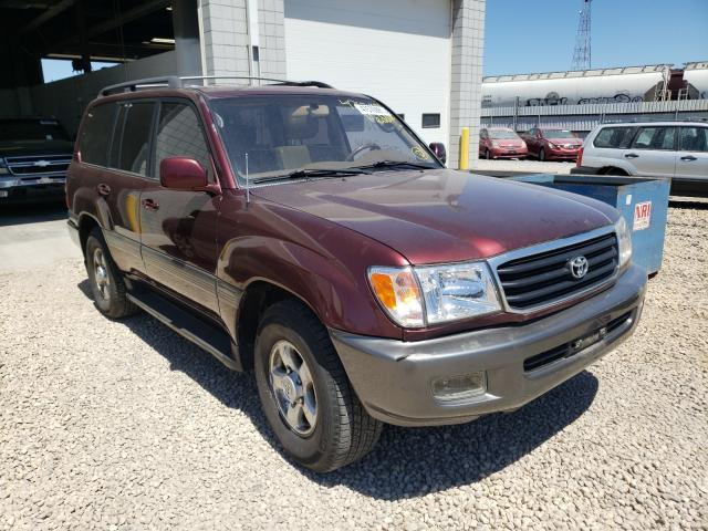 Salvage cars for sale from Copart Blaine, MN: 1998 Toyota Land Cruiser