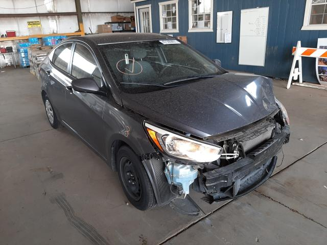 Salvage cars for sale from Copart Phoenix, AZ: 2015 Hyundai Accent GLS