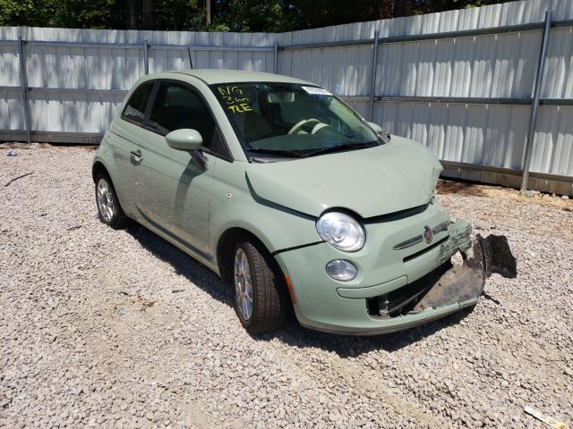 Fiat salvage cars for sale: 2012 Fiat 500