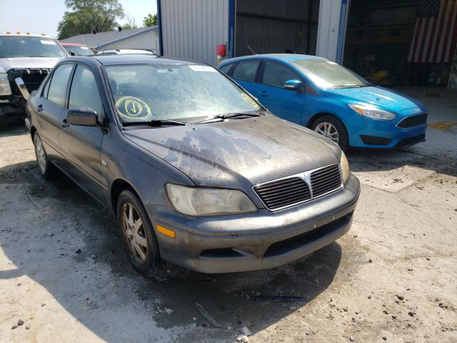 Salvage cars for sale from Copart Sikeston, MO: 2002 Mitsubishi Lancer LS