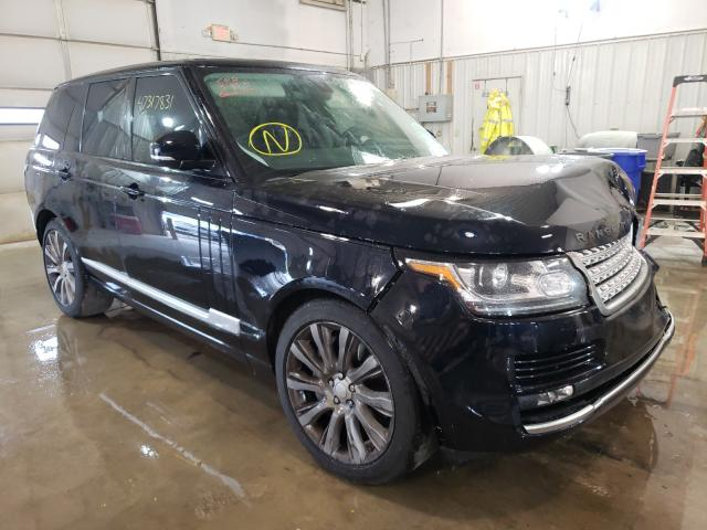Salvage cars for sale from Copart Columbia, MO: 2014 Land Rover Range Rover