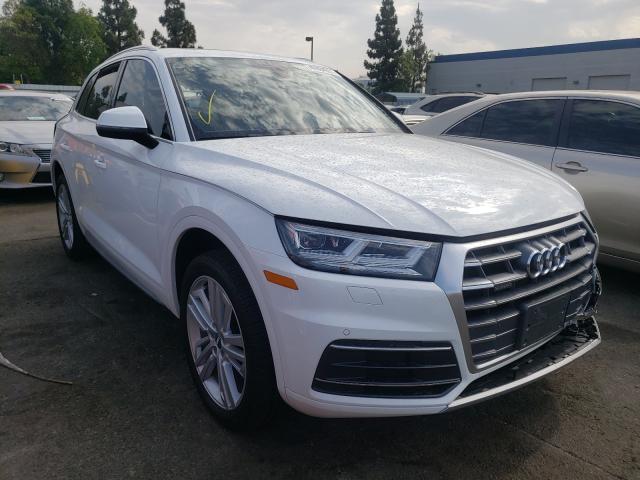 Audi Q5 Premium salvage cars for sale: 2018 Audi Q5 Premium