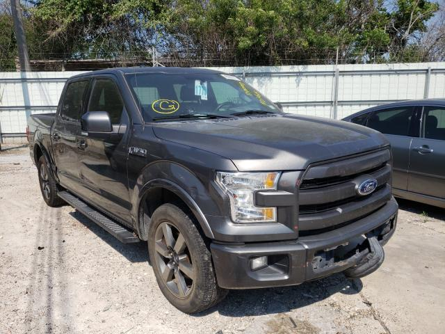 Salvage cars for sale from Copart Corpus Christi, TX: 2015 Ford F150 Super
