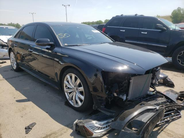 Audi salvage cars for sale: 2016 Audi A8 L Quattro