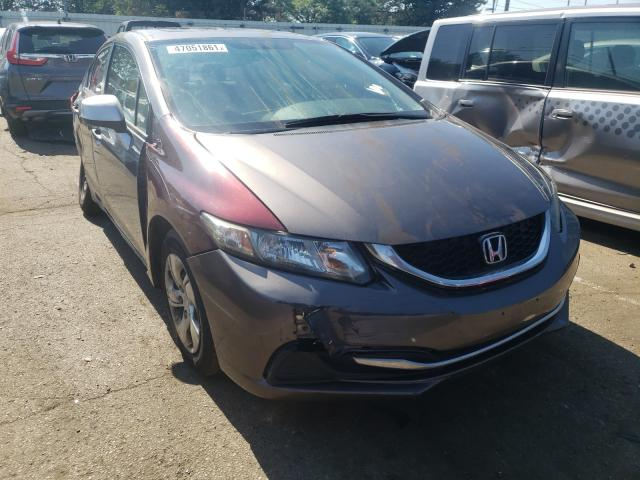 Salvage cars for sale from Copart Moraine, OH: 2013 Honda Civic EX