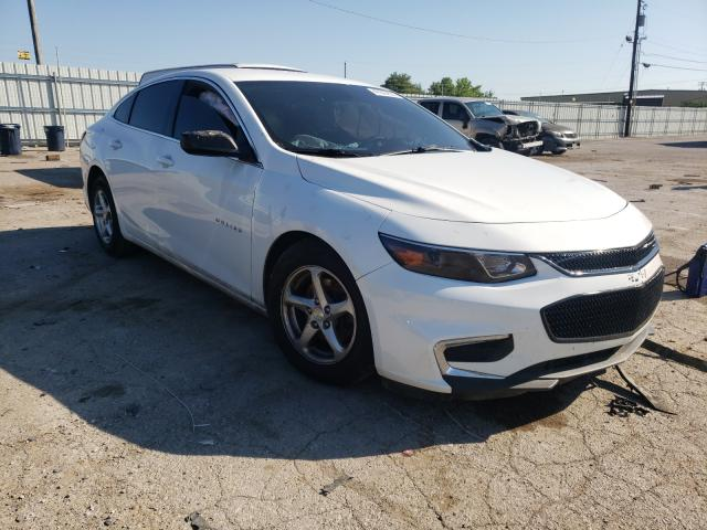 Salvage cars for sale from Copart Lexington, KY: 2016 Chevrolet Malibu LS