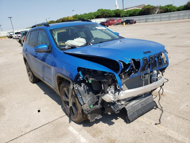 Salvage cars for sale at Oklahoma City, OK auction: 2018 Jeep Cherokee L