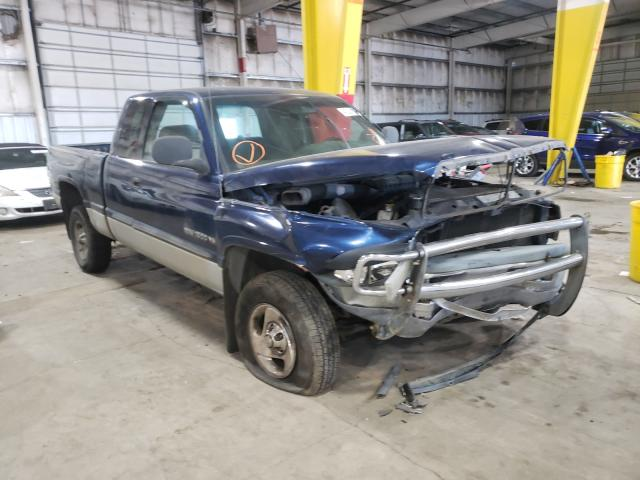 Salvage cars for sale from Copart Woodburn, OR: 2001 Dodge RAM 1500