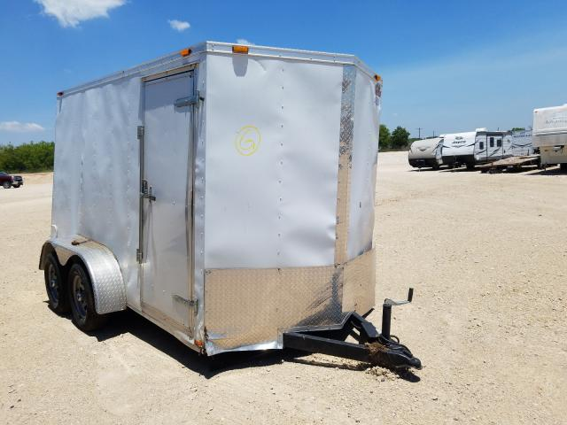 Salvage cars for sale from Copart Abilene, TX: 2014 Cargo Trailer
