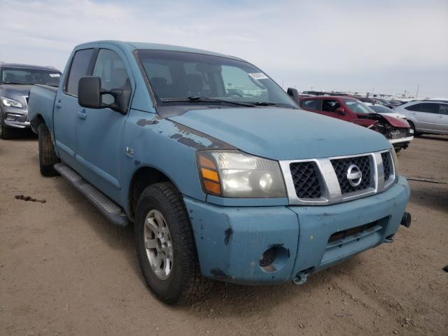 Salvage cars for sale from Copart Brighton, CO: 2004 Nissan Titan XE
