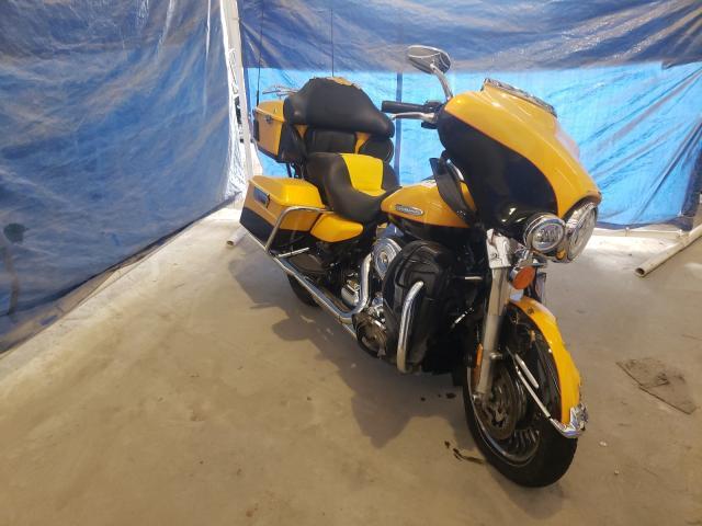 Salvage cars for sale from Copart Apopka, FL: 2013 Harley-Davidson Flhtk Elec