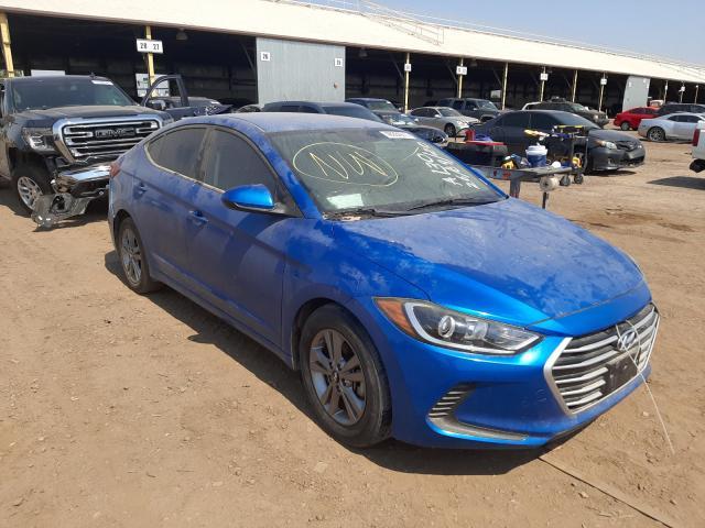 Salvage cars for sale from Copart Phoenix, AZ: 2017 Hyundai Elantra SE