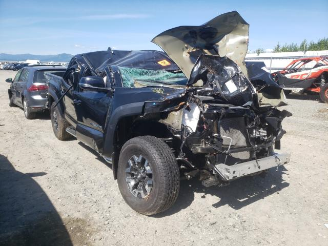 Salvage cars for sale from Copart Arlington, WA: 2020 Toyota Tacoma DOU