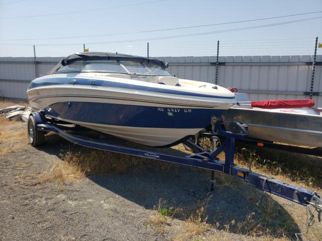 Salvage boats for sale at Alorton, IL auction: 2005 Tahoe Q6S Runabo