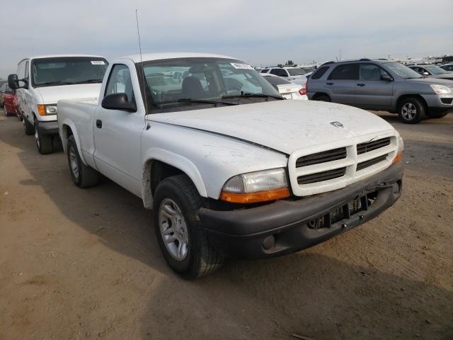 Salvage cars for sale from Copart Brighton, CO: 2003 Dodge Dakota SXT