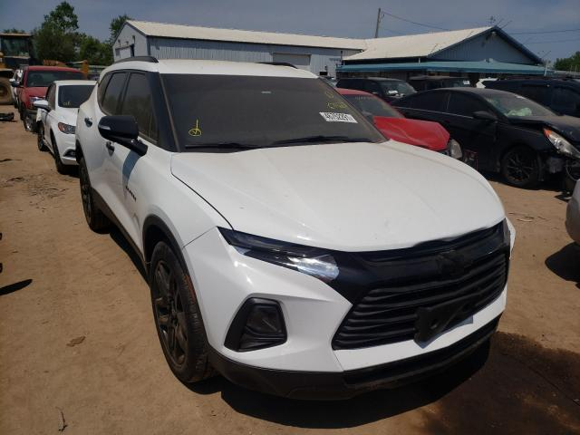 Salvage cars for sale from Copart Pekin, IL: 2019 Chevrolet Blazer 2LT
