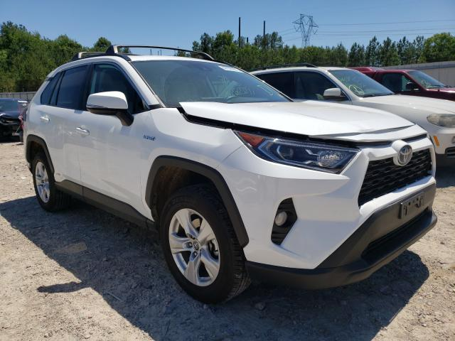 Salvage cars for sale from Copart Charles City, VA: 2021 Toyota Rav4 XLE