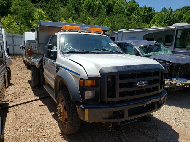 Salvage cars for sale from Copart Hurricane, WV: 2009 Ford F550 Super