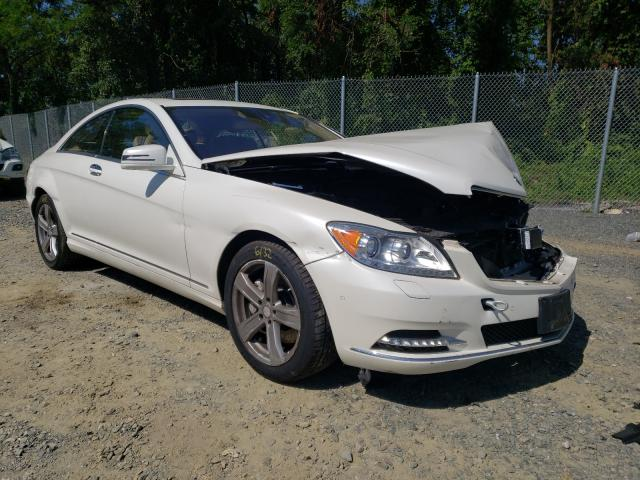 Salvage cars for sale from Copart Baltimore, MD: 2013 Mercedes-Benz CL 550 4matic