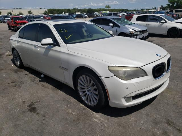 Salvage cars for sale from Copart Orlando, FL: 2010 BMW 750 LI