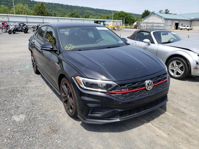 Salvage cars for sale from Copart Grantville, PA: 2019 Volkswagen Jetta GLI